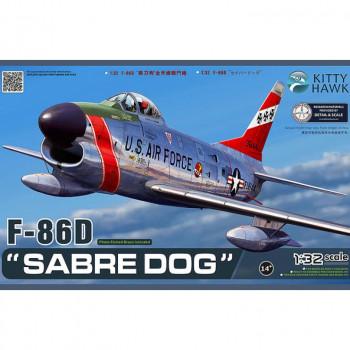 KH32007 1/32 North American F-86D Sabre Dog, , шт от Kitty Hawk