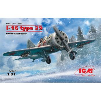 И-16 тип 29, Советский истребитель ІІ МВ сборная модель