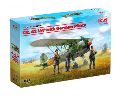 32022 ICM CR. 42 LW с германскими пилотами , 1/32
