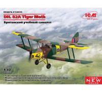 32035 DH. 82A Tiger Moth, Британский учебный самолет ICM, 1/32