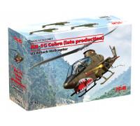 32061 ICM AH-1G Cobra (позднего производства), Американский ударный вертолет, 1/32