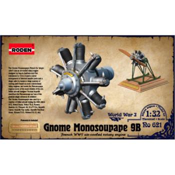 Rod621 Двигатель Gnome Monosoupape 100 h.p
