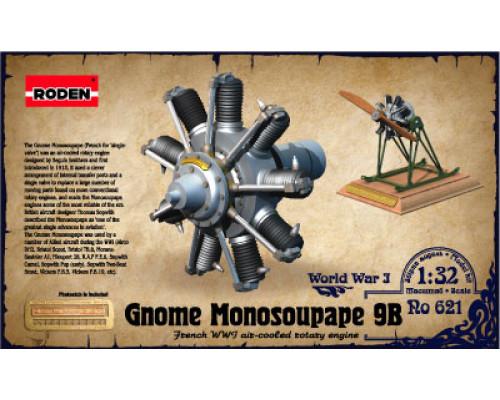 Двигатель Gnome Monosoupape 100 h.p
