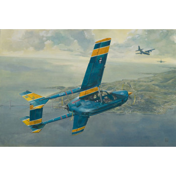 Rod632 Самолет O-2A Skymaster U.S. Navy Service