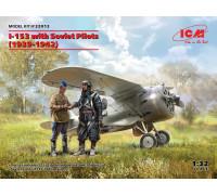 И-153 с советскими пилотами (1939-1942 г.)