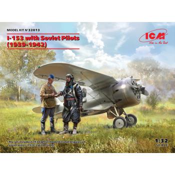 И-153 с советскими пилотами (1939-1942 г.) сборная модель