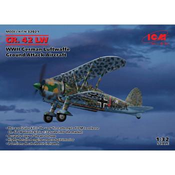 CR. 42 LW, Штурмовой самолет ВВС Германии II МВ сборная модель