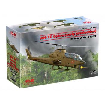 32060 ICM AH-1G Cobra (раннего производства), Американский ударный вертолет сборная модель