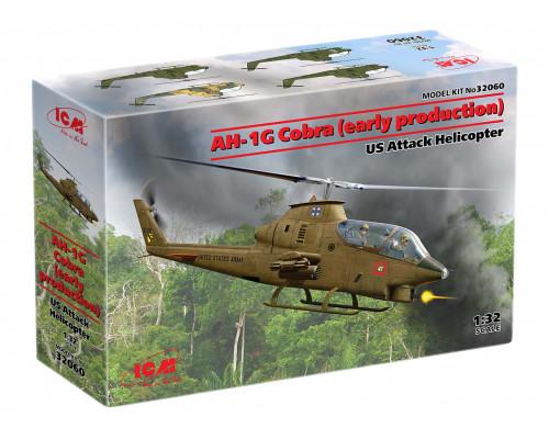 32060 ICM AH-1G Cobra (раннего производства), Американский ударный вертолет, 1/32