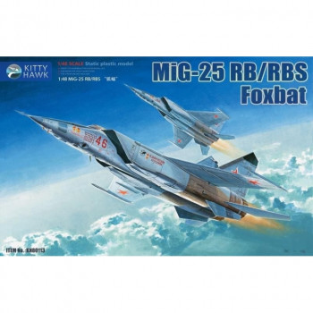 KH80113 1/48 Mig-25 RB RBS, от Kitty Hawk