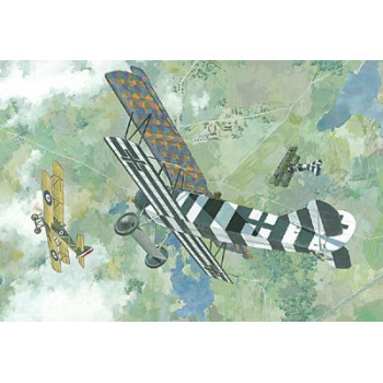 Rod415 Самолёт FOKKER D.VII (FOKKER-BUILT, EARLY)