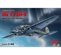 He 111H-6, Германский бомбардировщик ІІ МВ