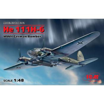 He 111H-6, Германский бомбардировщик ІІ МВ сборная модель