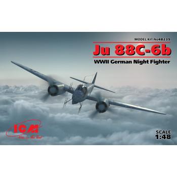 Ju 88С-6b, Германский ночной истребитель ІІ МВ сборная модель