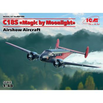 """C18S """"Magic by Moonlight"""", Американский демонстрационный самолет сборная модель"""