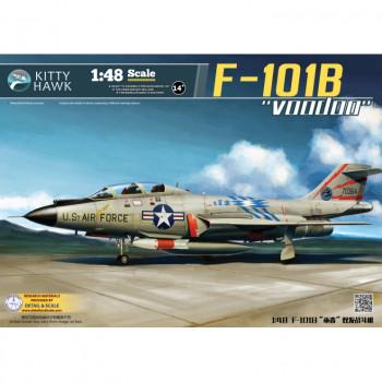 KH80114 F-101b Voodoo от Kitty Hawk