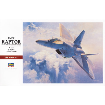 H07245 Hasegawa Истребитель F-22 Raptor (1:48)