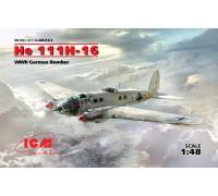 He 111H-16, Германский бомбардировщик ІІ МВ