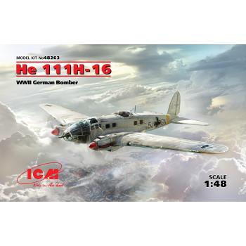 He 111H-16, Германский бомбардировщик ІІ МВ сборная модель