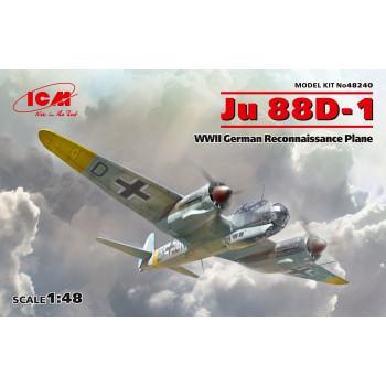 Ju 88D-1, Германский самолет-разведчик ІІ МВ сборная модель