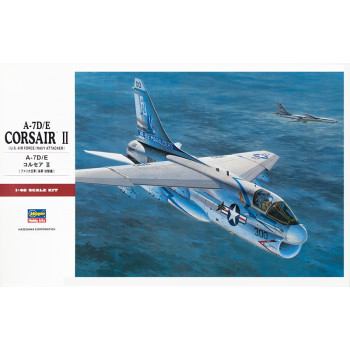 H07247 Hasegawa Палубный штурмовик A-7D/E Corsair II (1:48)