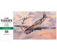 H09086 Hasegawa Истребитель P-40E Warnawk (1:48)