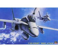 H07203 Hasegawa Американский палубный истребитель F-18D Night Hornet (1:48)