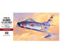H07213 Hasegawa Американский истребитель F-86F-30 Sabre USAF P (1:48)