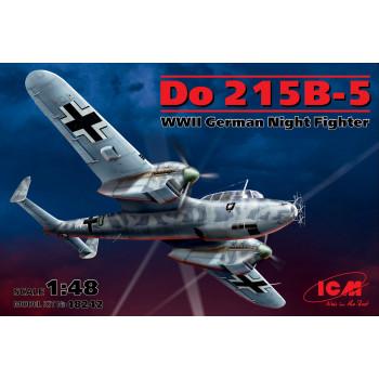 Do 215 B-5, германский ночной истребитель 2 МВ сборная модель