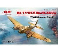 "He 111H-6 ""Северная Африка"", Германский бомбардировщик ІІ МВ"