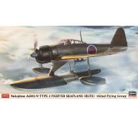 H07430 Hasegawa Японский гидросамолет Nakajima A6M2-N Type 2 (RUFE) 452nd Flying Group (1:48)