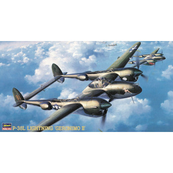 "H09102 Hasegawa Американский истребитель P-38L Lightning ""Grronimo II"" (1:48)"