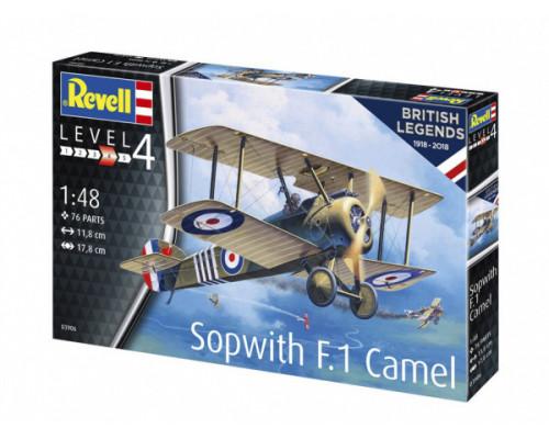 100 лет RAF: одноместный истребитель Sopwith 2F.1 Camel