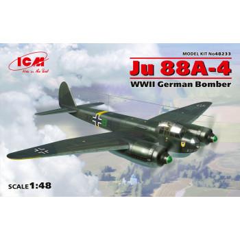 Ju 88A-4, Германский бомбардировщик ІІ МВ сборная модель