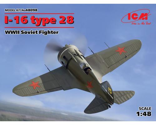 И-16 тип 28, Советский истребитель ІІ МВ