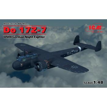 Do 17Z-7, Германский ночной истребитель ІІ МВ сборная модель