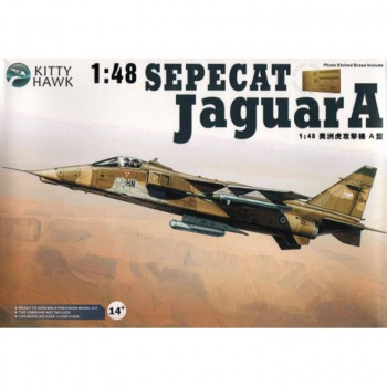 KH80104 1/48 Jaguar A, , шт от Kitty Hawk