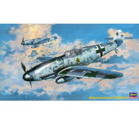 H09147 Hasegawa Немецкий истребитель Messerschmitt Bf109G-6 (1:48)