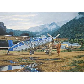 Самолёт Pilatus PC-6C/H-2 Turbo-Porter