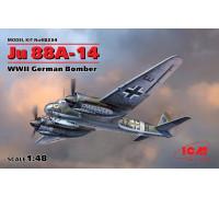 Ju 88A-14, Германский бомбардировщик ІІ МВ