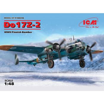 Do 17Z-2, Бомбардировщик ВВС Финляндии ІІ МВ сборная модель