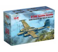 48279 B-26K Counter Invader, Американский ударный самолет (война во Вьетнаме) ICM, 1/48