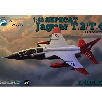 KH80105 1/48 SEPECAT Jaguar T2/T4, , шт от Kitty Hawk