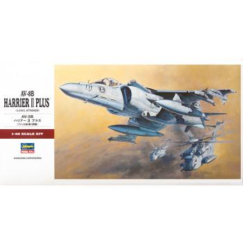 H07228 Hasegawa Штурмовик ВВИП AV-8B Harrier II Plus (1:48)