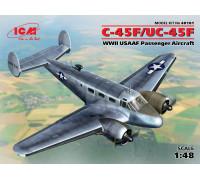 C-45F/UC-45F, пассажирский самолёт ВВС США II МВ