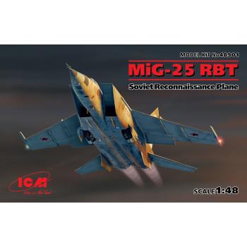 МиГ-25 РБТ, Советский самолет-разведчик сборная модель
