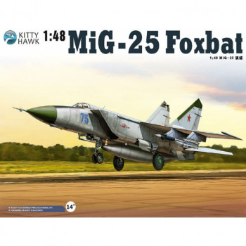 KH80119 1/48 MiG-25PD/PDS Foxbat E Kit First Look, , шт от Kitty Hawk