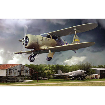 Самолёт Beechcraft UC-43 Staggerwing