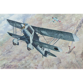 Rod452 Самолёт Heinkel He-51 B-1