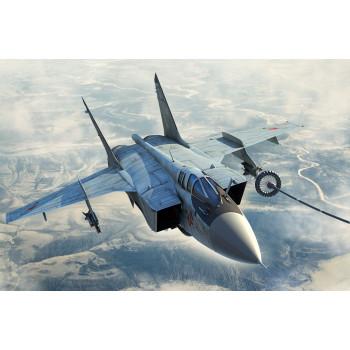 81754 Российский истребитель-перехватчик МиГ-31Б/БМ (1:48, Hobby Boss)